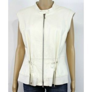 Worth New York Women Jacket Vest White